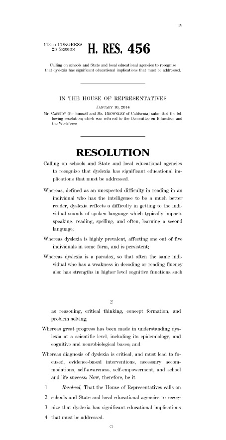US House Resolution 456