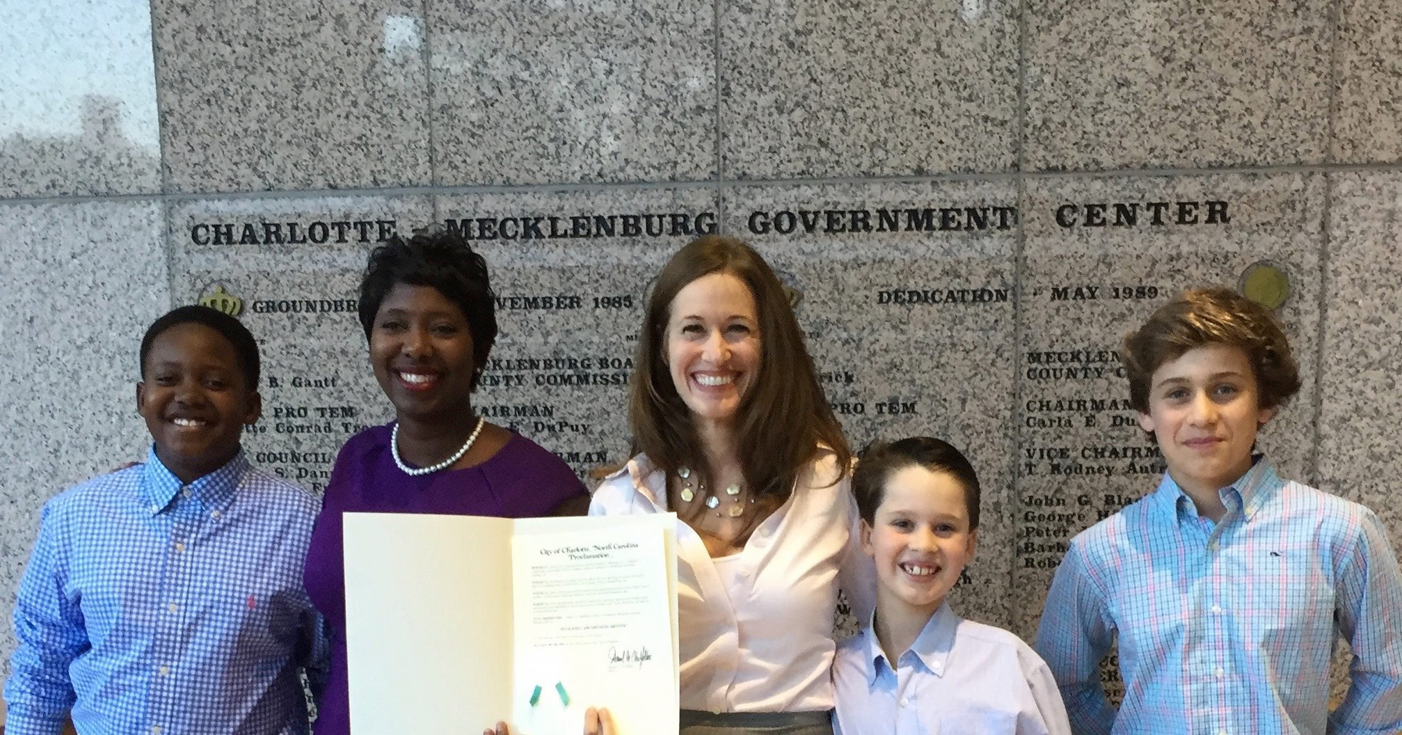 Accepting Charlotte Proclamation
