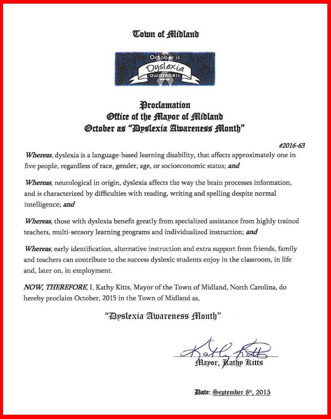 Midland Proclamation