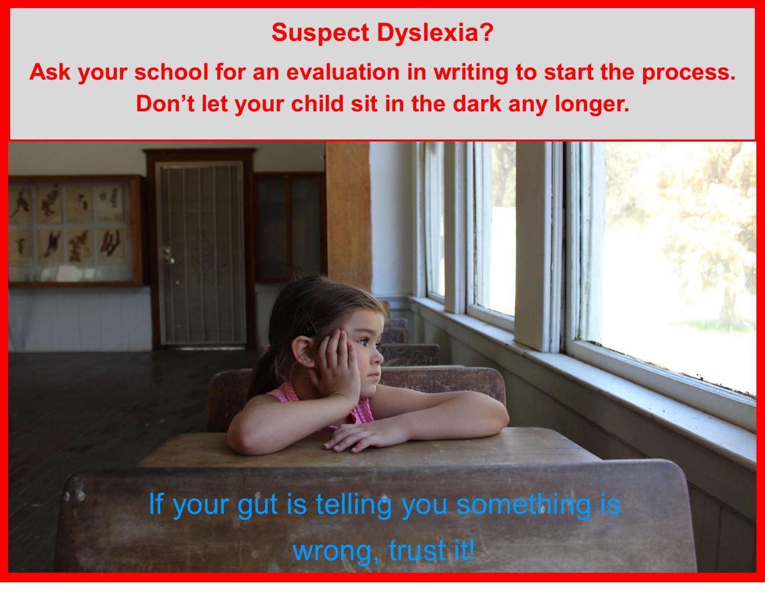 Suspect Dyslexia?