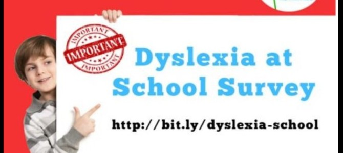 Call to Action: Dyslexia at School Survey