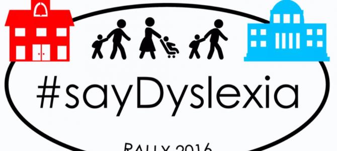 #SayDyslexia Rally in Washington D.C.