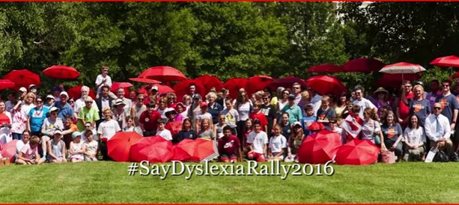 Dyslexia Hill Days in Washington DC