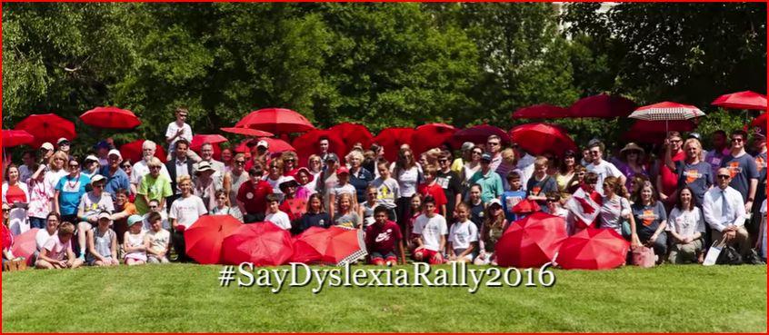 #SayDyslexia Rally Video