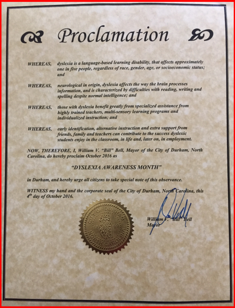 Durham Proclamation