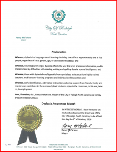 Raleigh Proclamation