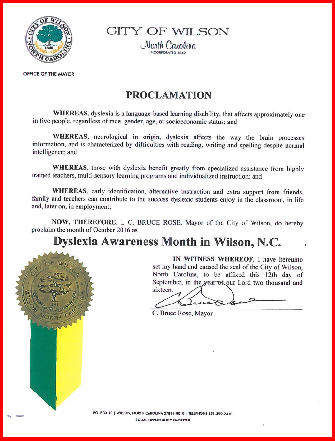 wilson-dyslexia-proclamation