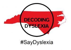 DDNC #SayDyslexia sign