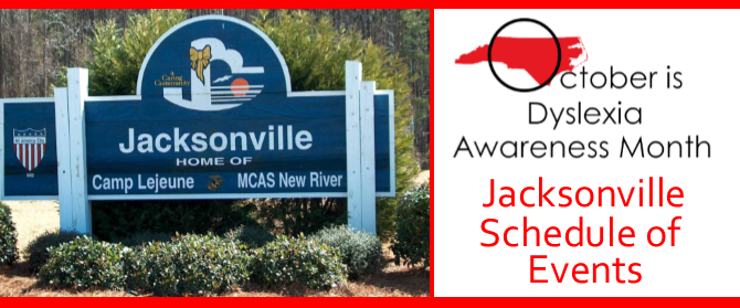 Jacksonville Celebrates Dyslexia Awareness Month