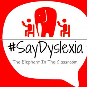#SayDyslexia Elephant