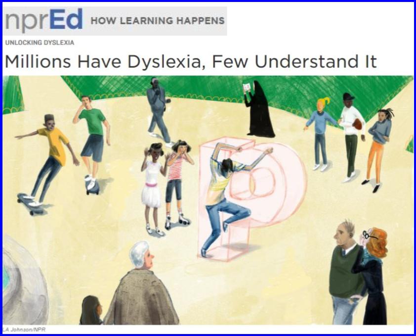 NPR-Dyslexia Series