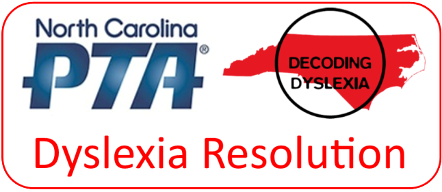 North Carolina PTA Dyslexia Resolution