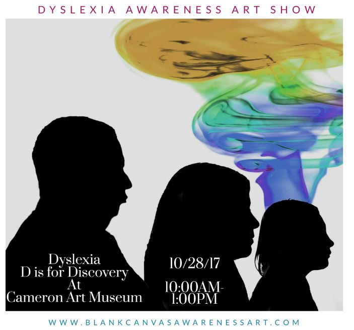 Dyslexia 'D' is for Discovery Art Show