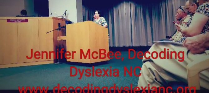 Gastonia has proclaimed October as Dyslexia Awareness Month!