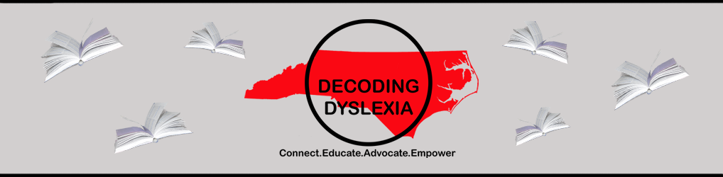 Decoding Dyslexia North Carolina